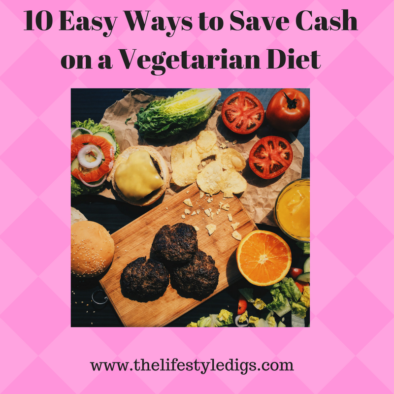 If you're on a budget, there are easy ways to save cash by following a vegetarian diet.