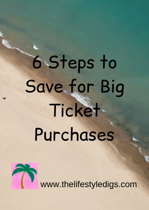 6 Steps to Save for Big Ticket Purchases