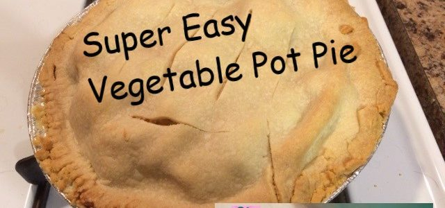 Super Easy Vegetable Pot Pie