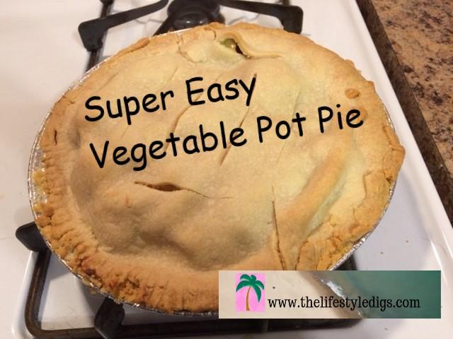 Super Easy Vegetable Pot Pie