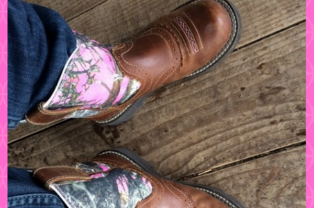 Look like a Cowgirl with Pink Ariat Fatbaby Boots