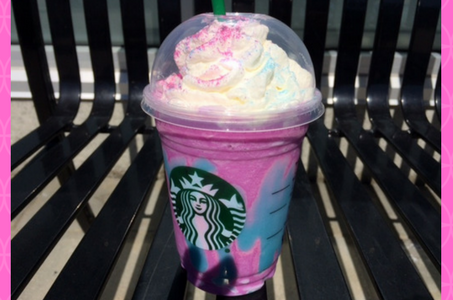 Try the Limited Edition Starbucks Unicorn Frappuccino for some Sour Power!
