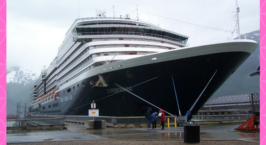 Welcome Aboard Holland America Zuiderdam