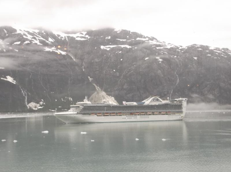 Holland America Zuiderdam cruising in Glacier Bay