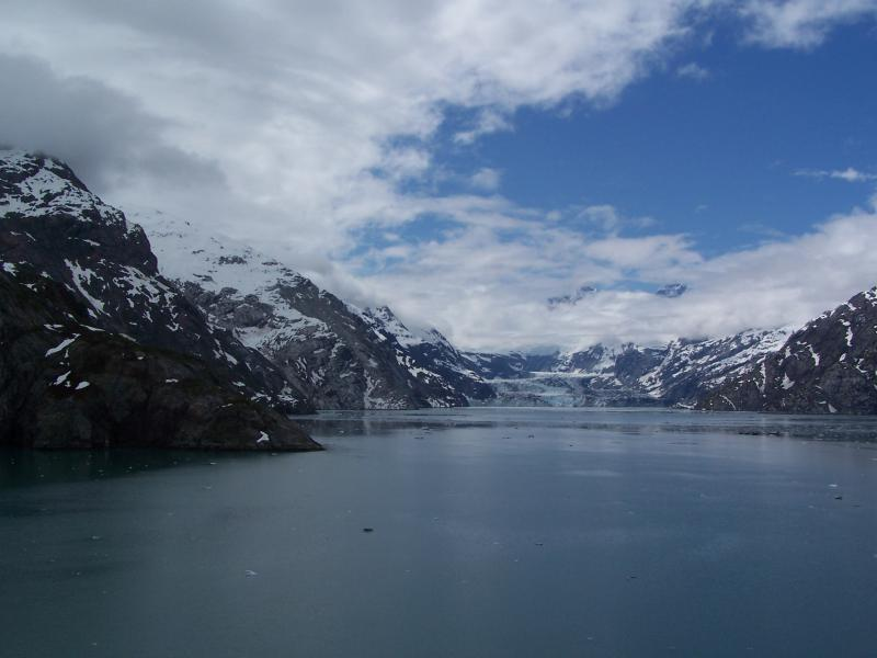 Cruising Glacier Bay on Holland America Zuiderdam