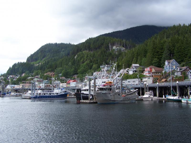 Port of Call on Holland America Zuiderdam's Alaskan Cruise: Ketchikan