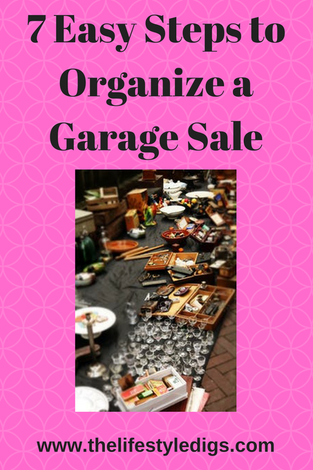 7 Easy Steps to Organize a Garage Sale
