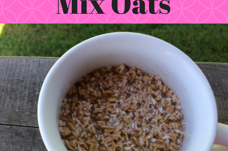 Super Easy Overnight Trail Mix Oats