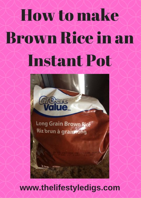 How to make Brown Rice in an Instant Pot