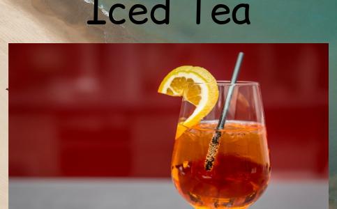7 Ways to Kick Start Iced Tea