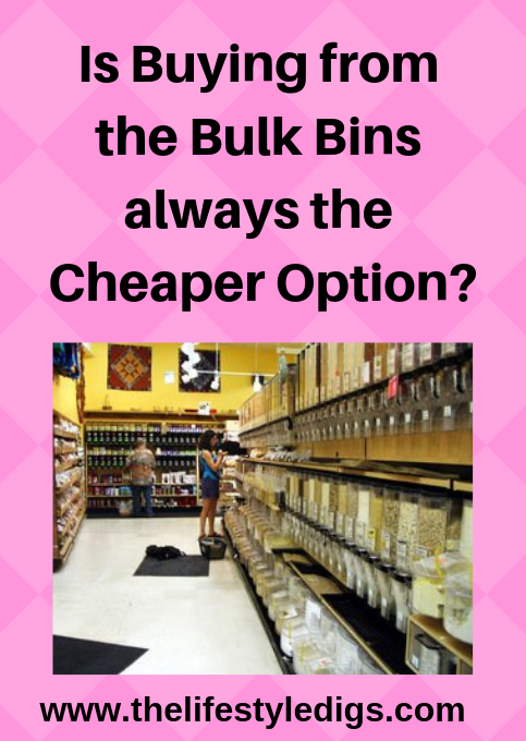 Is Buying from the Bulk Bins always the Cheaper Option_