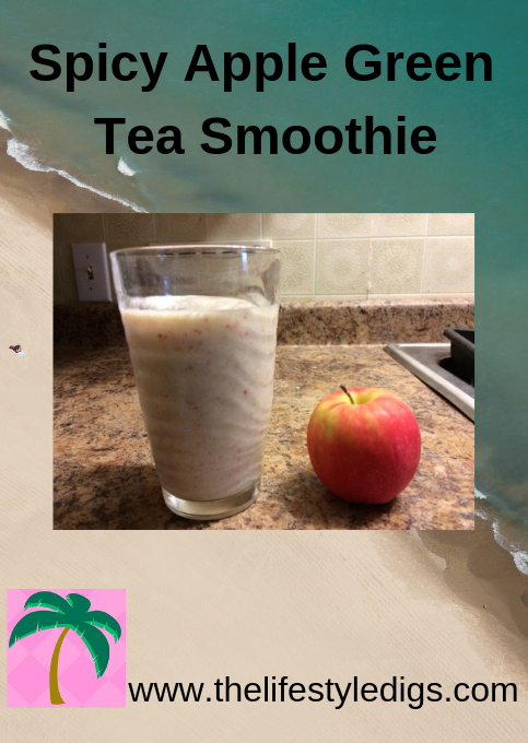 Spicy Apple Green Tea Smoothie