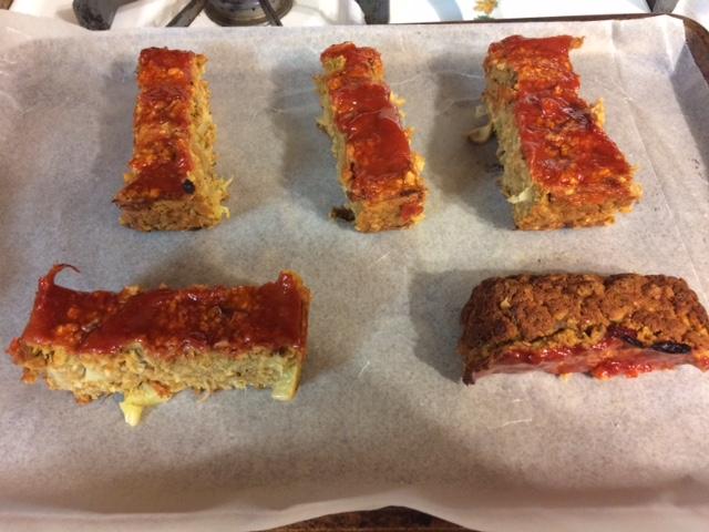 Super Easy Veggie Lentil Loaf