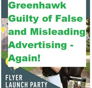 Greenhawk Guilty of False and Misleading Advertising – Again!