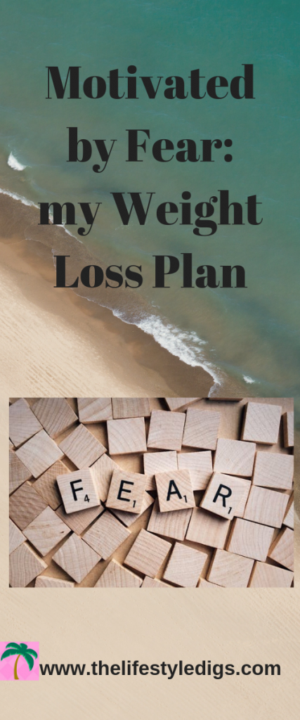 Motivated by Fear: my Weight Loss Plan