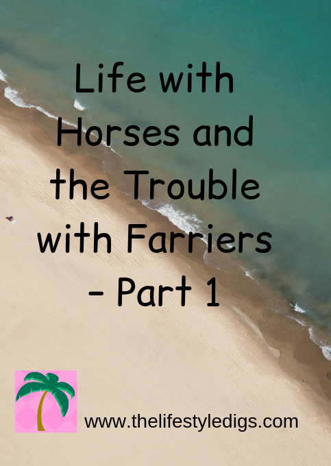 Life with Horses and the Trouble with Farriers – Part 1