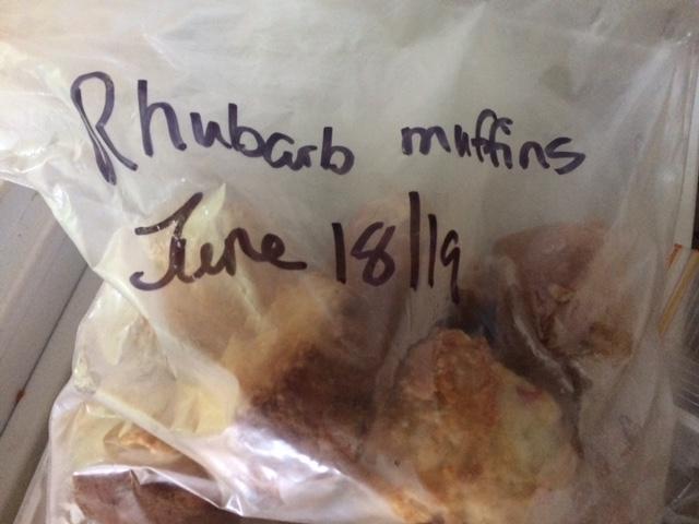 Best Rhubarb Muffins