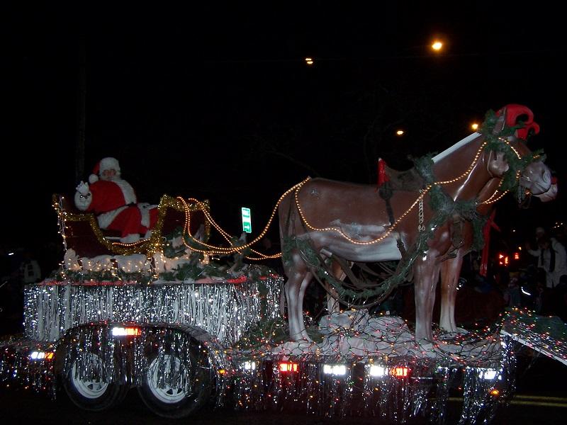 Cloverdale Santa Parade 2019