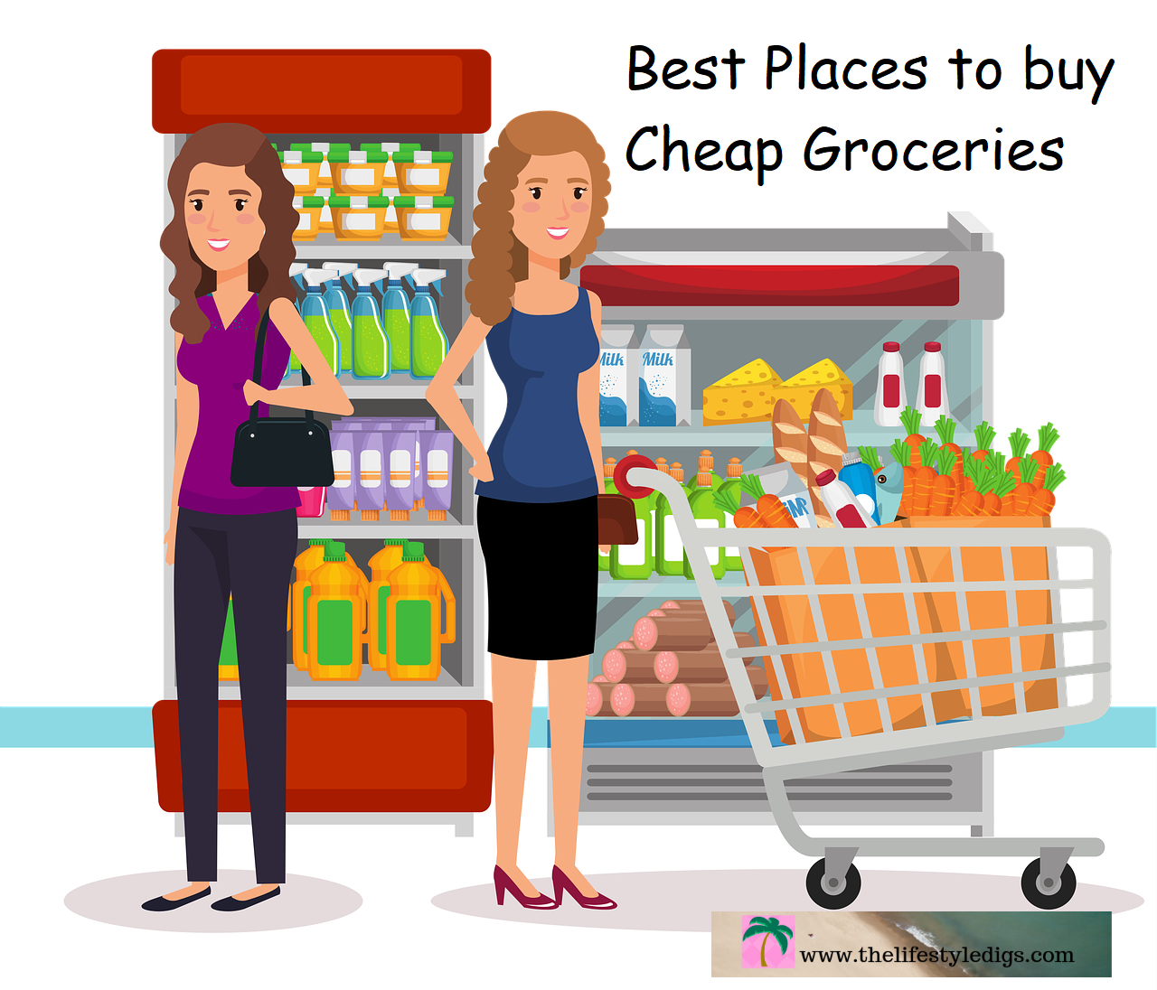 Best Places to buy Cheap Groceries