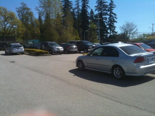 The Sad, Empty Cloverdale Fairgrounds Parking Lot