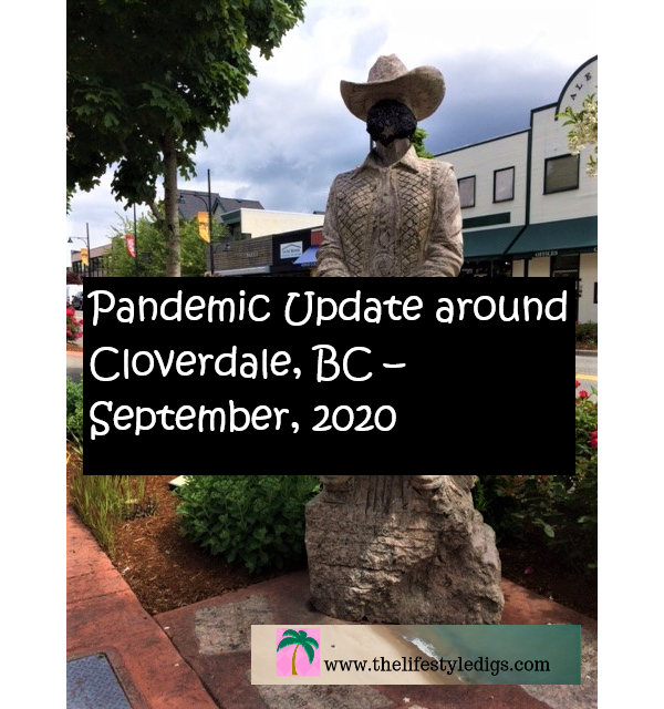 Pandemic Update around Cloverdale, BC – September, 2020