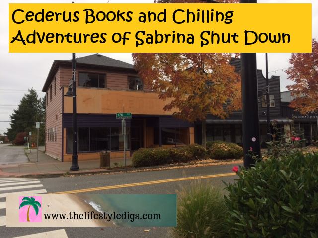 Cederus Books and Chilling Adventures of Sabrina Shut Down