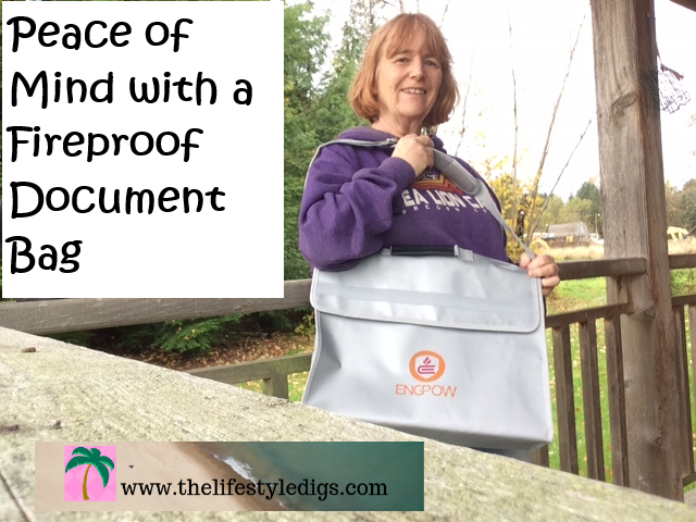 Peace of Mind with a Fireproof Document Bag
