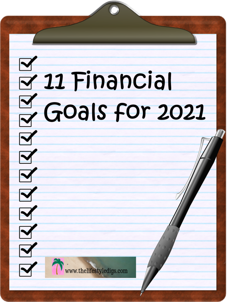 11 Financial Gals for 2021