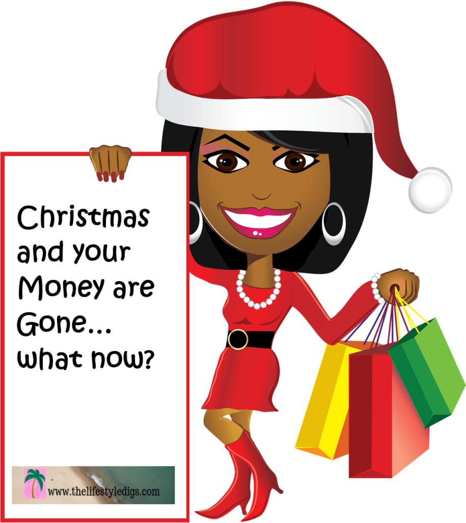 Christmas and your Money are Gone... what now?