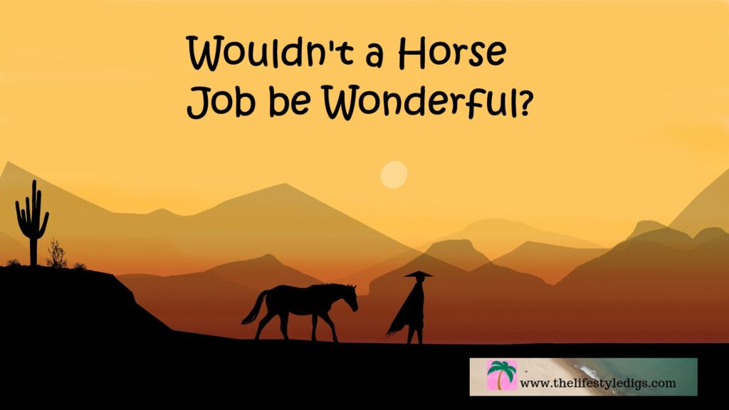 Wouldn't a Horse Job be Wonderful?