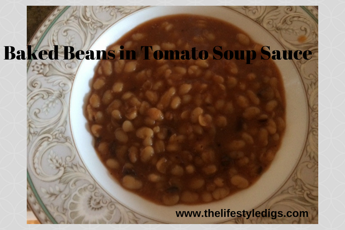 Baked Beans in Tomato Soup Sauce