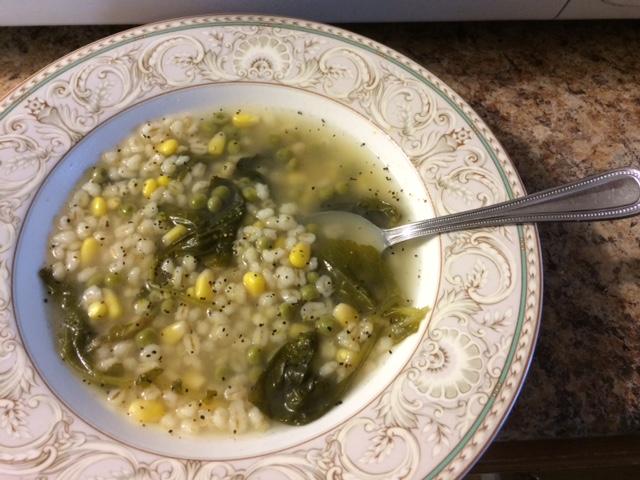 Super Easy Instant Pot Vegetable Barley Soup