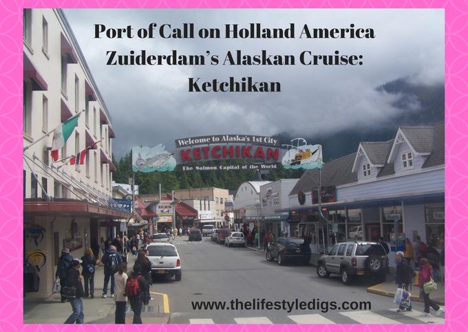 Port of Call on Holland America Zuiderdam's Alaskan Cruise: Ketchikan