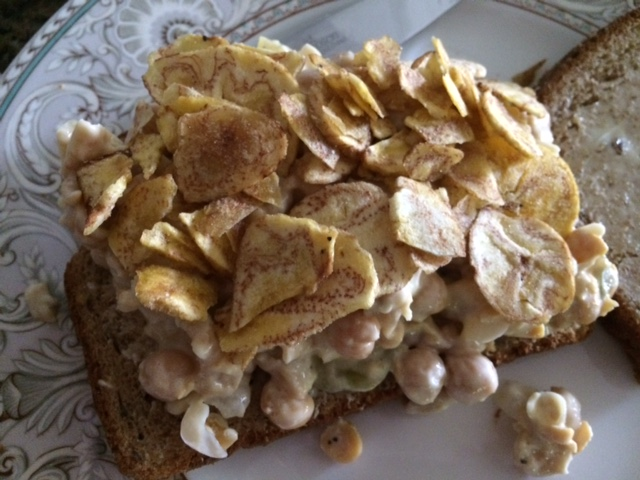 How to make a Chick Pea Sandwich