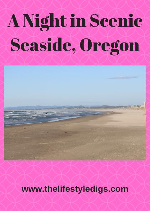 A Night in Scenic Seaside, Oregon