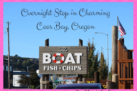 Overnight Stop in Charming Coos Bay, Oregon