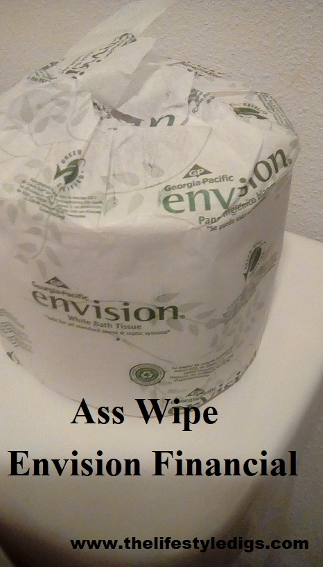 Ass Wipe Envision Financial