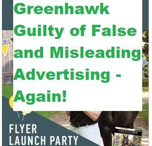 Greenhawk Guilty of False and Misleading Advertising – Again!