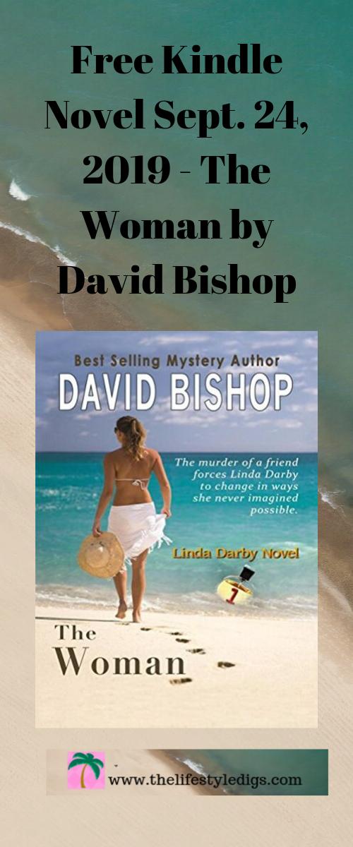 Free Kindle Novel on Sept. 24, 2019 - The Woman by David Bishop
