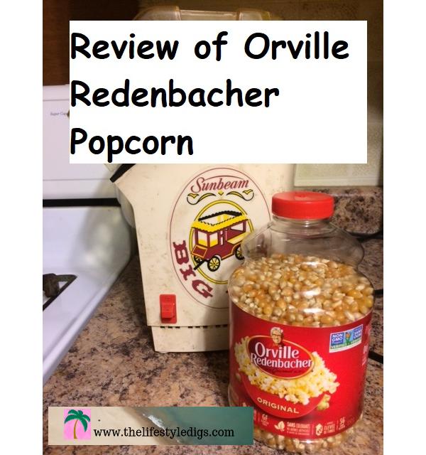 Review of Orville Redenbacher Popcorn