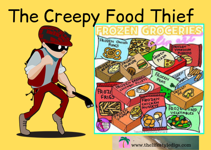 The Creepy Food Thief