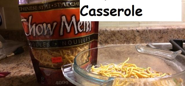 Chopstick Tuna Casserole
