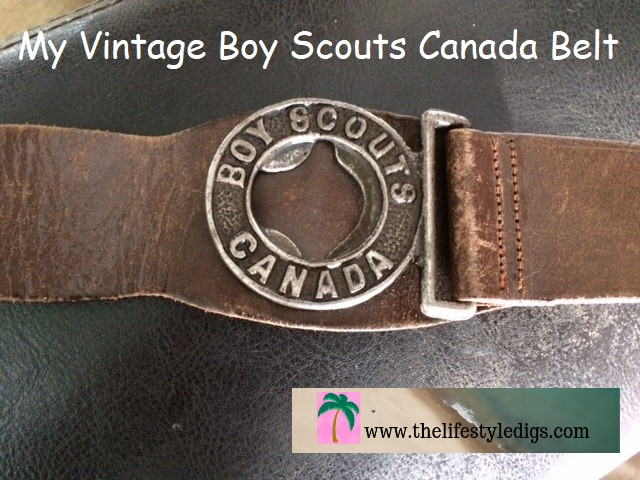 My Vintage Boy Scouts Canada Belt