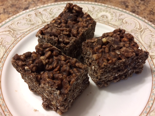 Chocolate Peanut Butter Crunchies