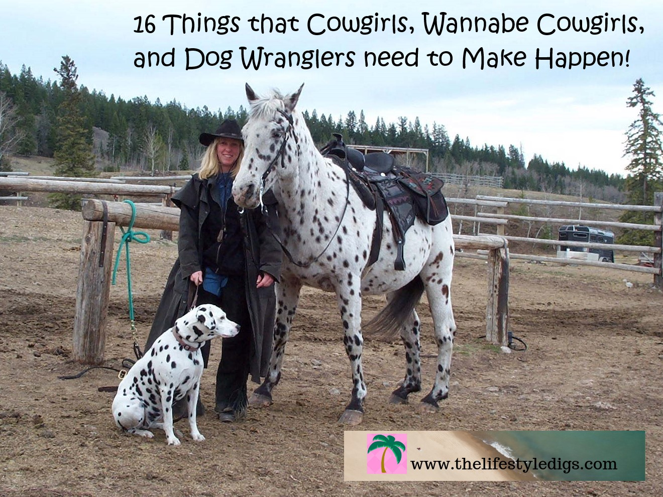 16 Things that Cowgirls, Wannabe Cowgirls, and Dog Wranglers need to Make Happen!