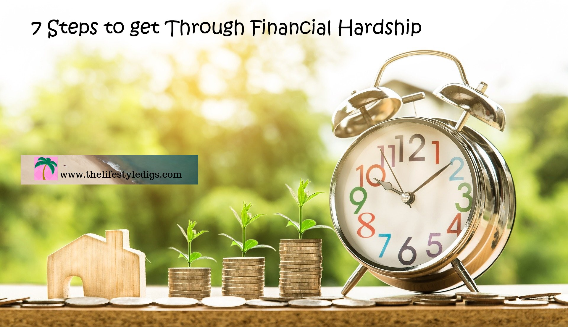 7 Steps to get Through Financial Hardship