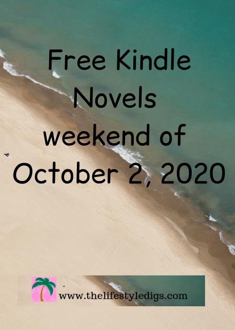 Free Kindle Novels Weekend of October 2, 2020